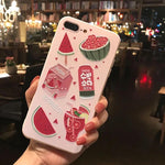 Pink Fruity iPhone Case 🍓🍉-Sour Puff Shop