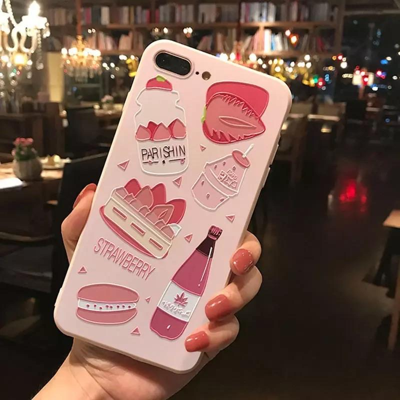 Pink Fruity iPhone Case 🍓🍉 - Sour Puff Shop