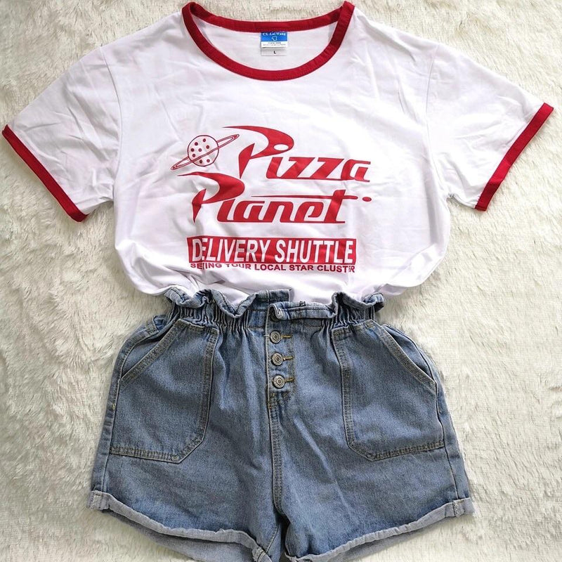 Pizza Planet T-Shirt 🍕 - Sour Puff Shop