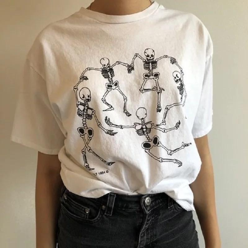 Skeleton Party T-Shirt 💀 - Sour Puff Shop