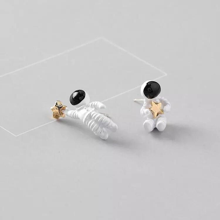 SPACE ASTRO EARRINGS - Sour Puff Shop