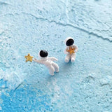 SPACE ASTRO EARRINGS-Sour Puff Shop