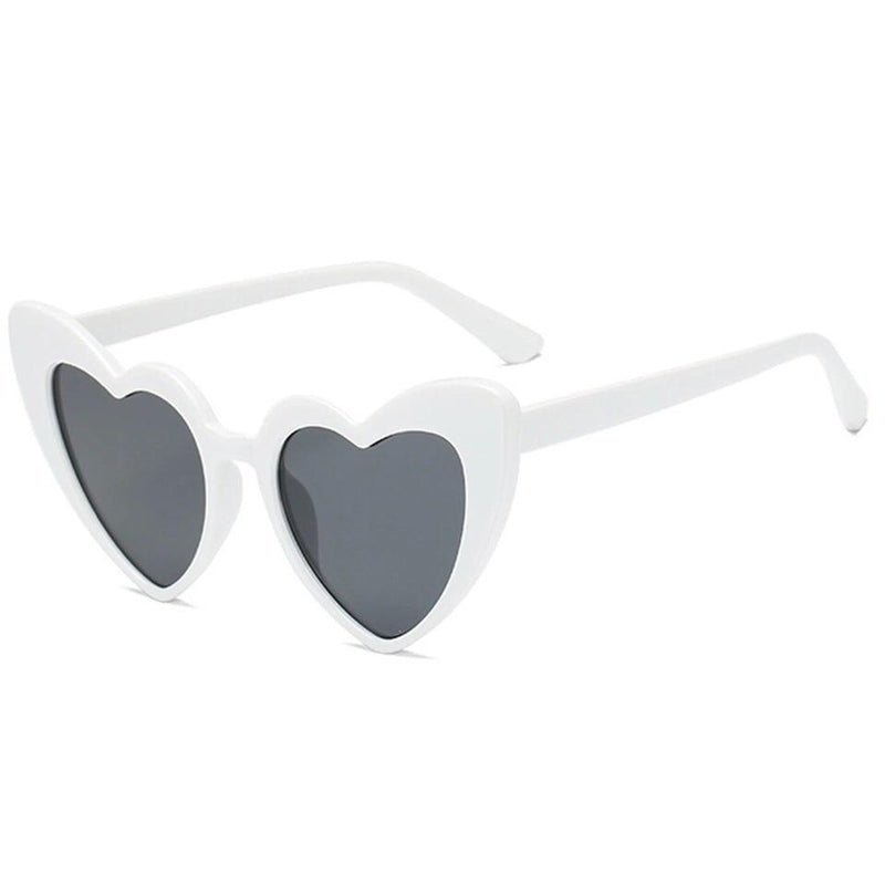 Sugar-Heart Framed Sunglasses 💘.