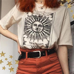 Tarot Card T-Shirt 🌞🌙-Sour Puff Shop