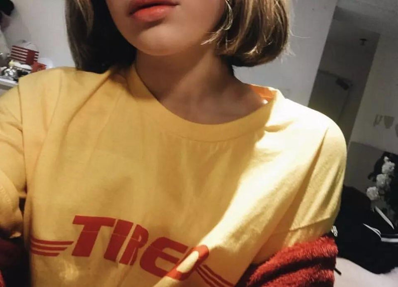 """Tired"" T-Shirt - Sour Puff Shop"