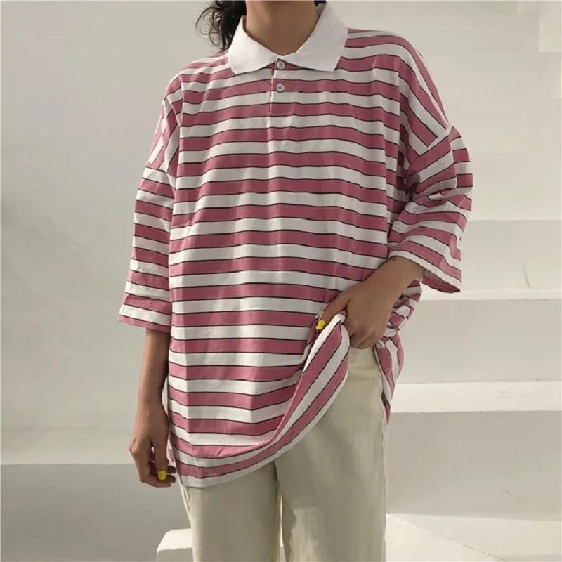 Vintage Collar Striped shirt ✨ - Sour Puff Shop