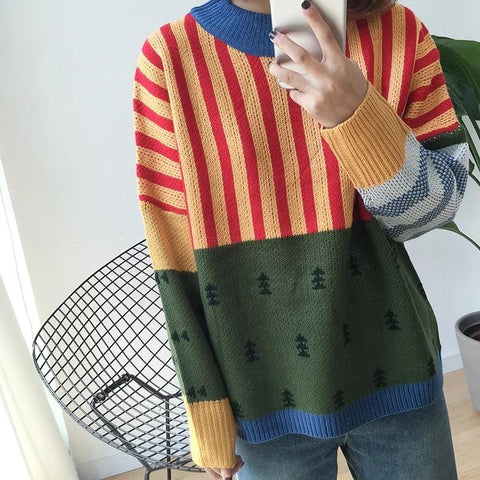 Vintage Greenfield Sweater-Sour Puff Shop