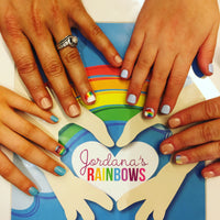 Rainbow Manicures for DIPG