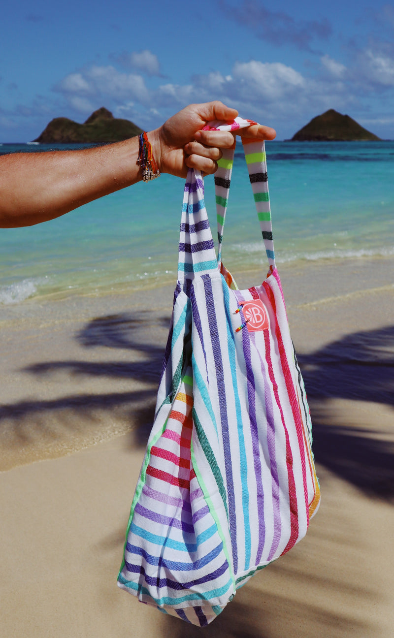 Recycled Cotton Tote Bag (Assorted Colours)