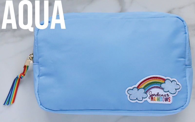 Rainbow Pouch with 3 Patches