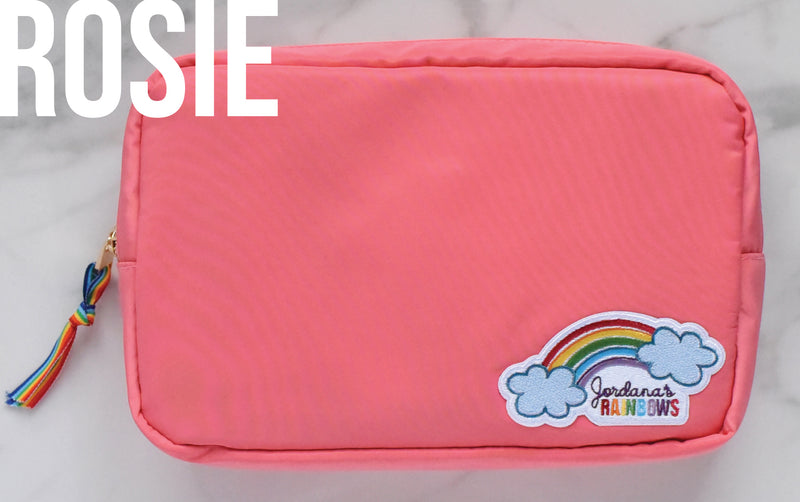 Rainbow Pouch with 2 Patches