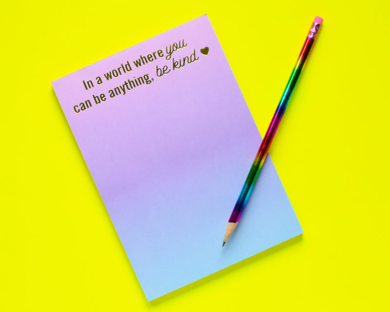 Kindness Notepad with magnet