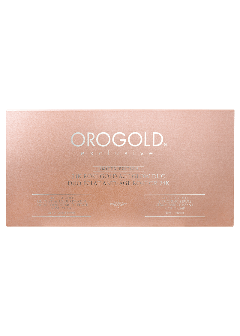 Orogold 24K Rose Gold Age Glow Duo