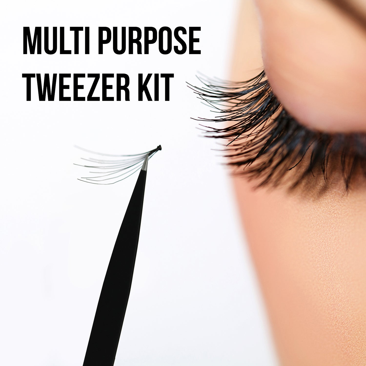 Beautyfrizz Tweezers Kit for Eyelashes