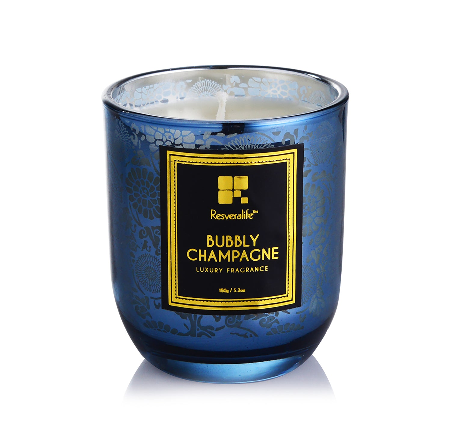 Resveralife Champagne Candle