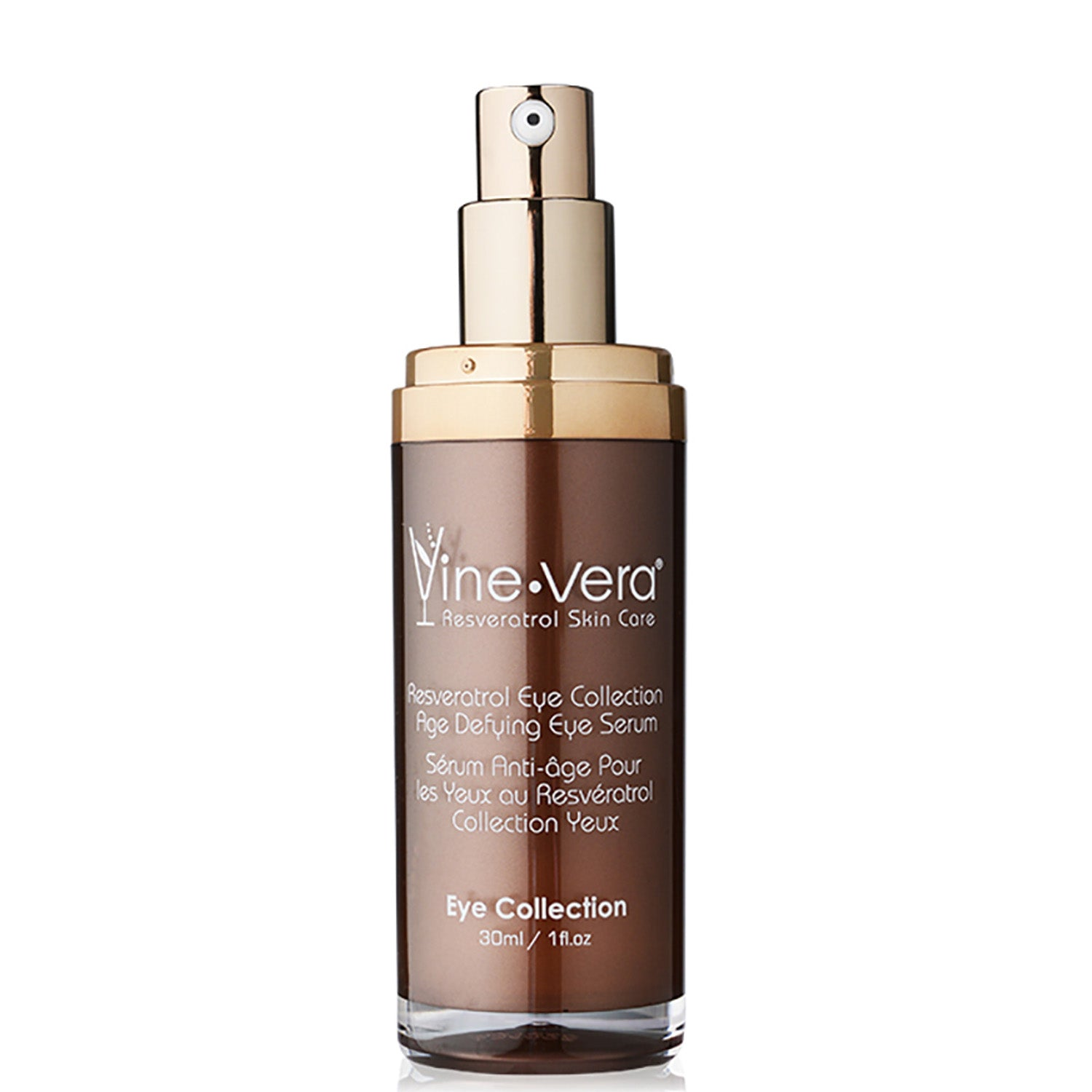 Vine Vera Age Defying Resveratrol Eye Serum For Wrinkles