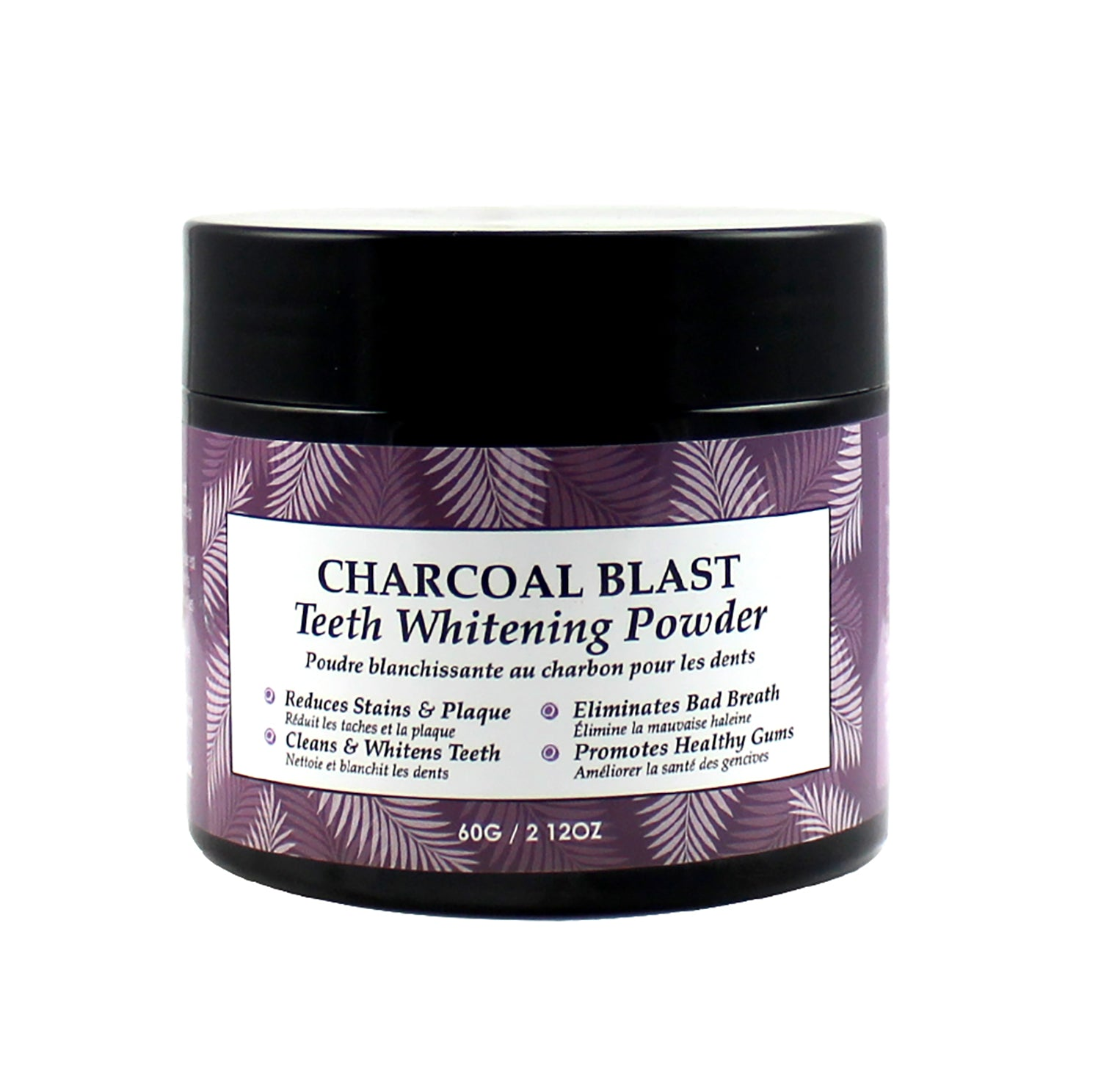 Vivo Per Lei Charcoal Blast Teeth Whitening Powder