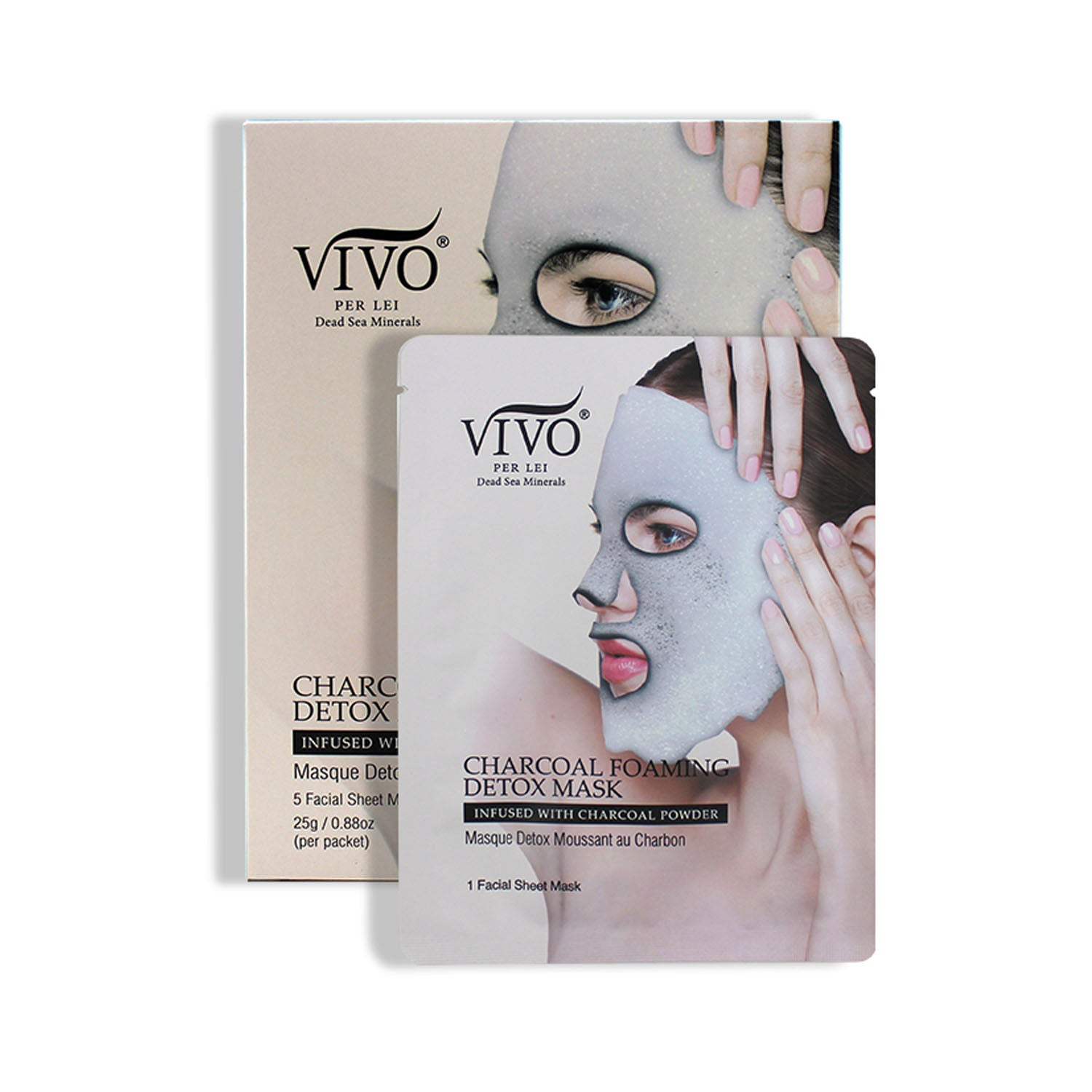 Vivo Per Lei Charcoal Bubble Foam Mask