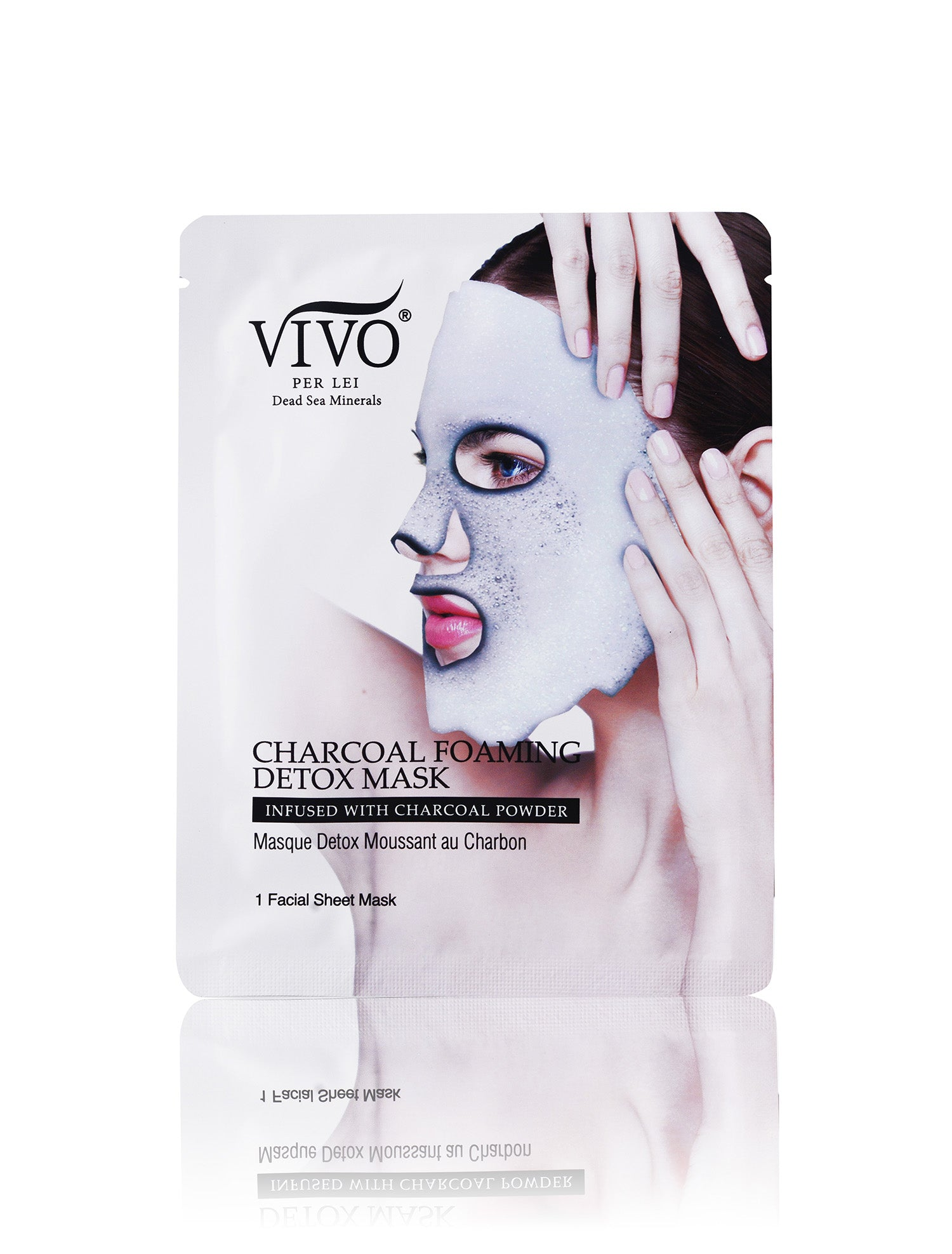 Vivo Per Lei Charcoal Foam Mask