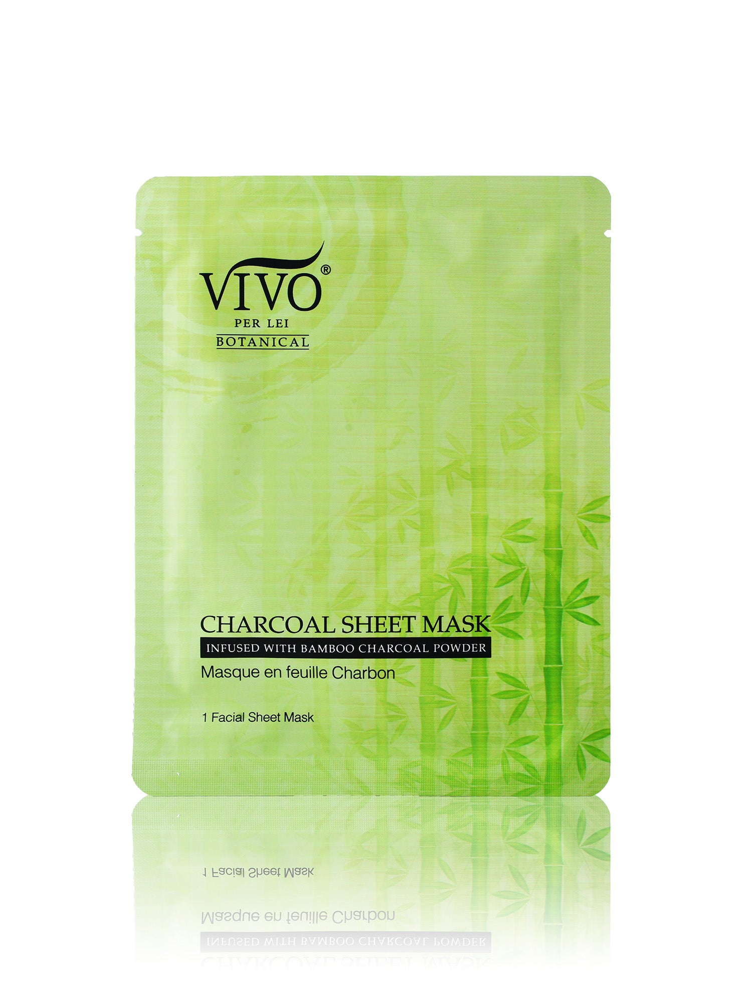 Vivo Per Lei Charcoal Sheet Mask