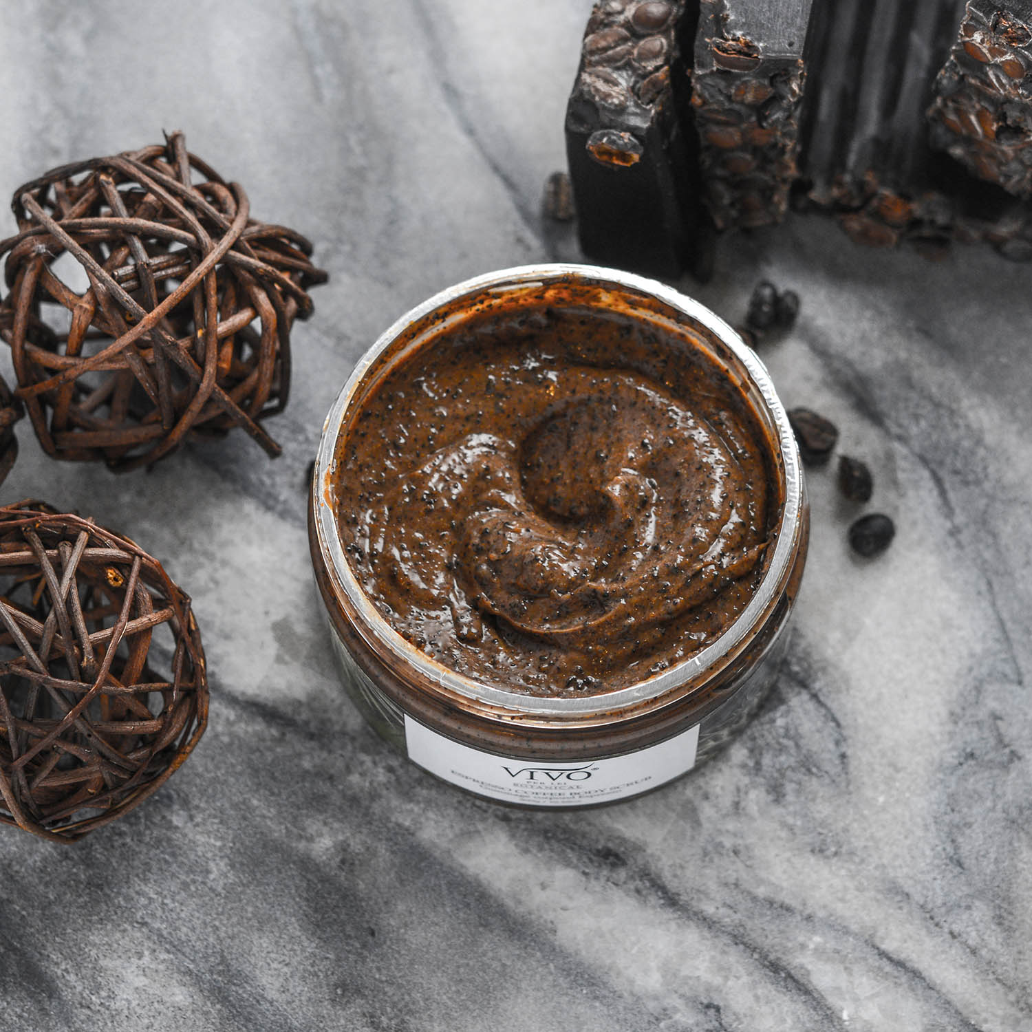 Vivo Per Lei Expresso Coffee Scrub For Cellulite
