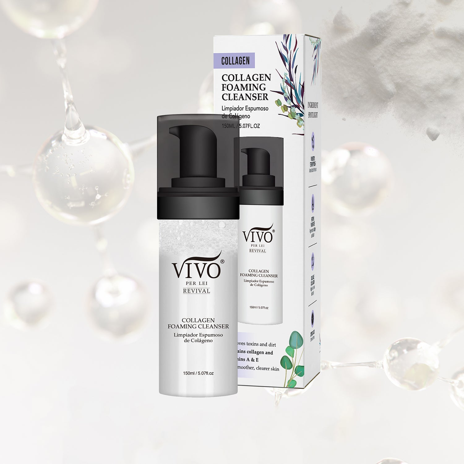 Vivo Per Lei Foaming Cleanser