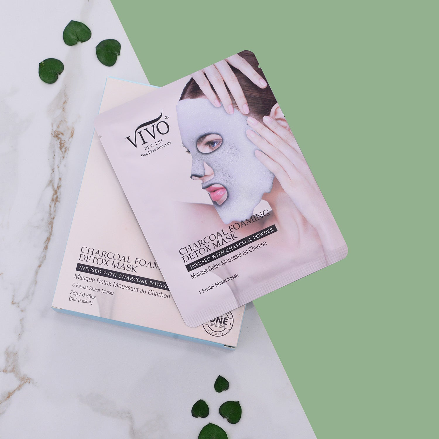 Vivo Per Lei Foaming Detox Charcoal Mask