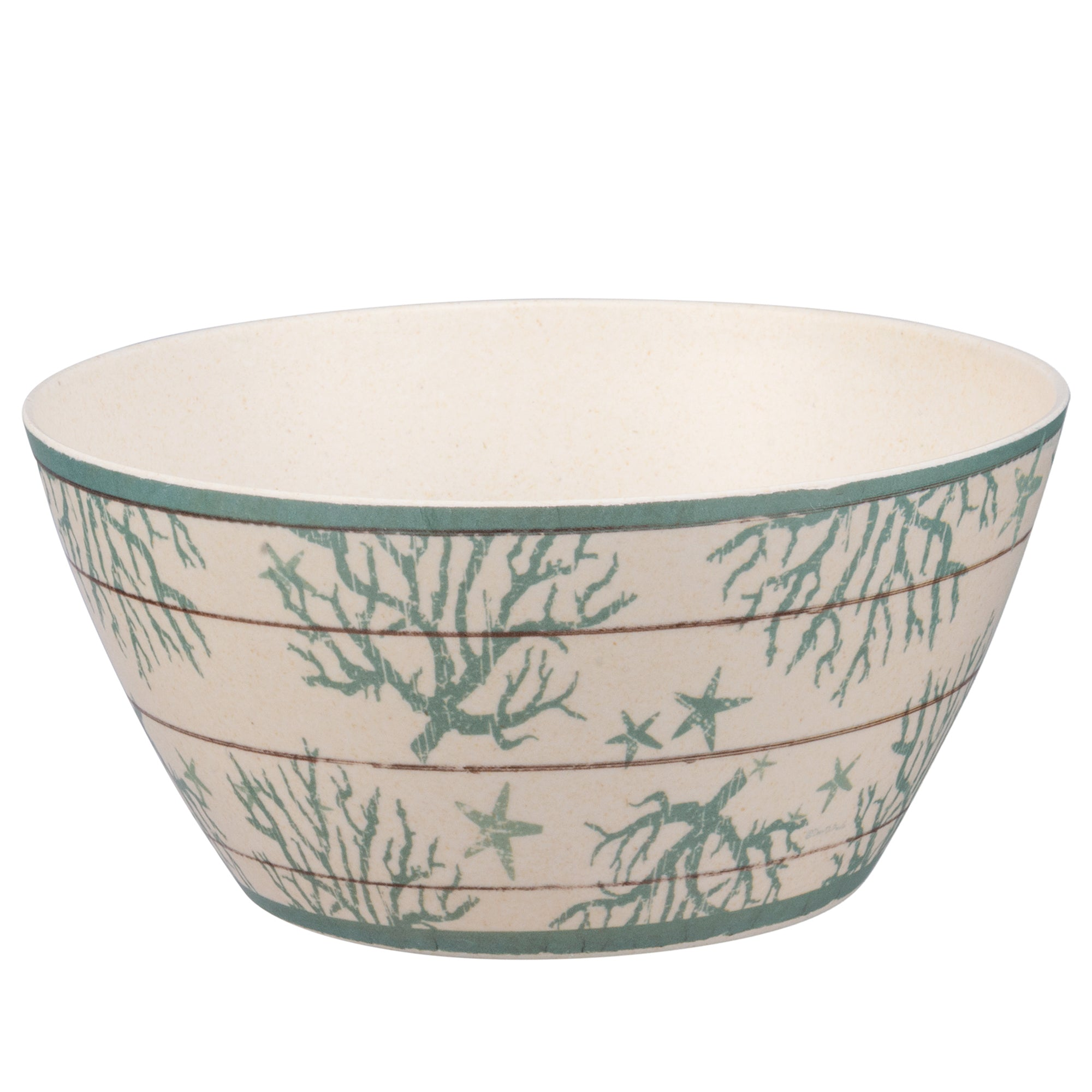 Small Coral Bowl - Bamboo