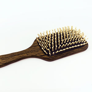 beautyfrizz wooden bristle hair brush