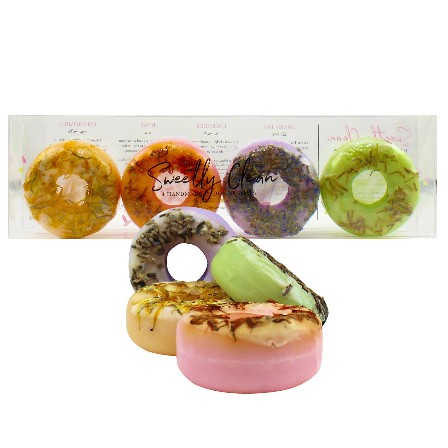 beautyfrizz hand made donut soaps