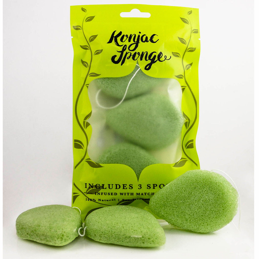 beautyfrizz konjac exfoliating face sponge