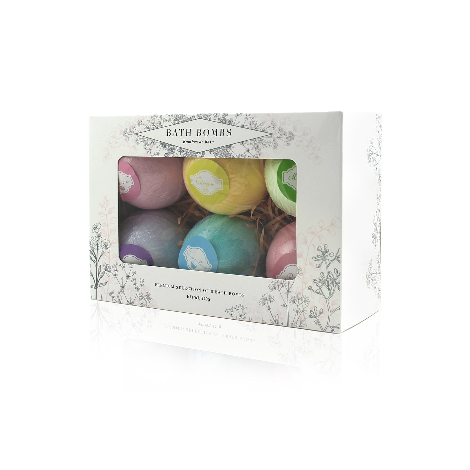 beautyfrizz luxury gift bath bombs