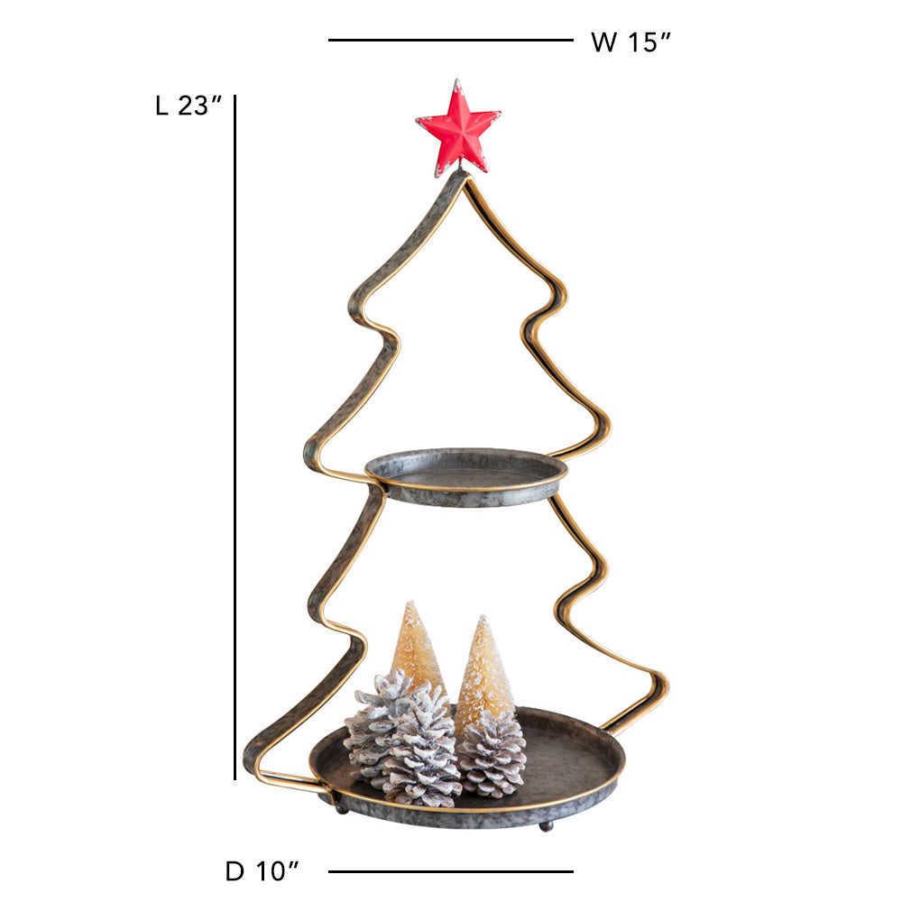 Classic Christmas Tree Tray