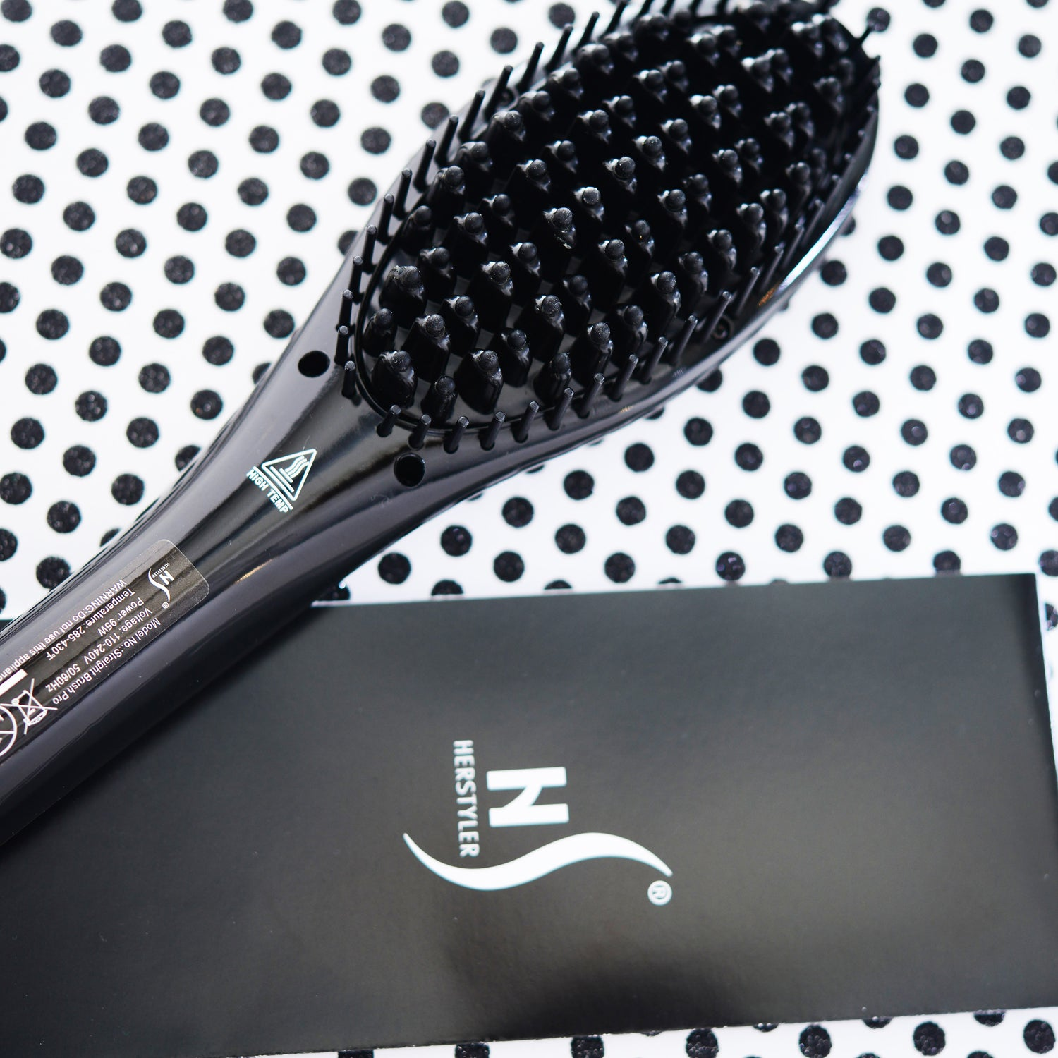 herstyler ceramic straightening brush