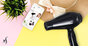 herstyler infrared blow dryer