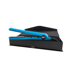 nubi blue ceramic flat iron