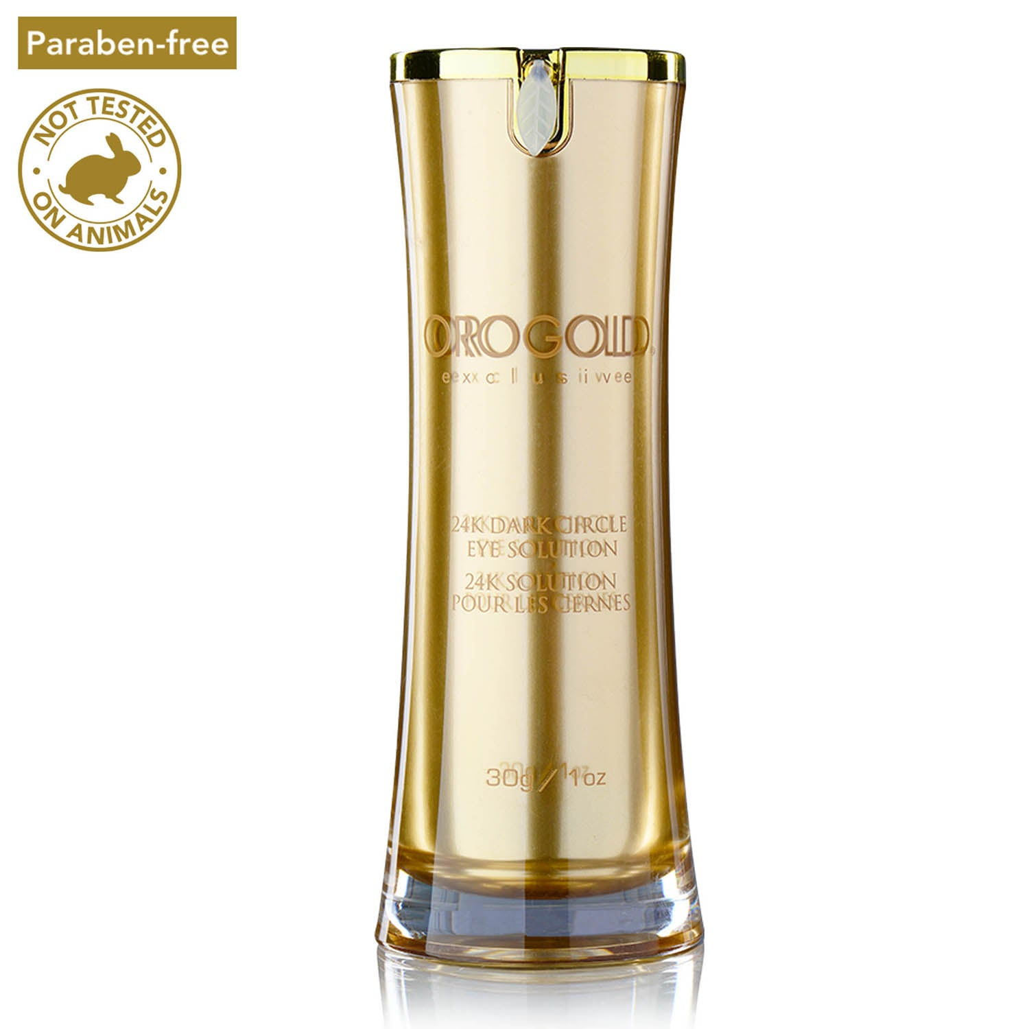orogold 24k anti wrinkle dark circle eye solution cream