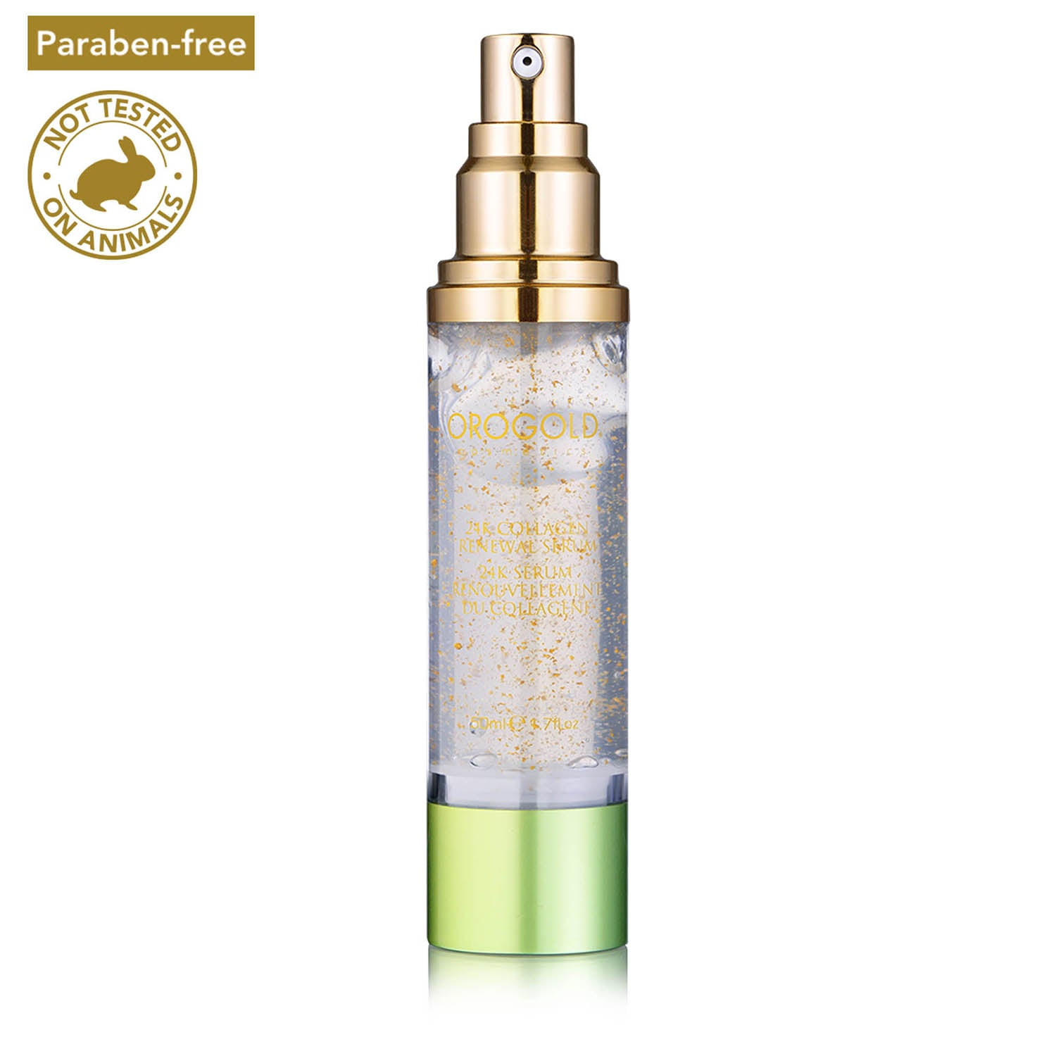 orogold face renewal serum