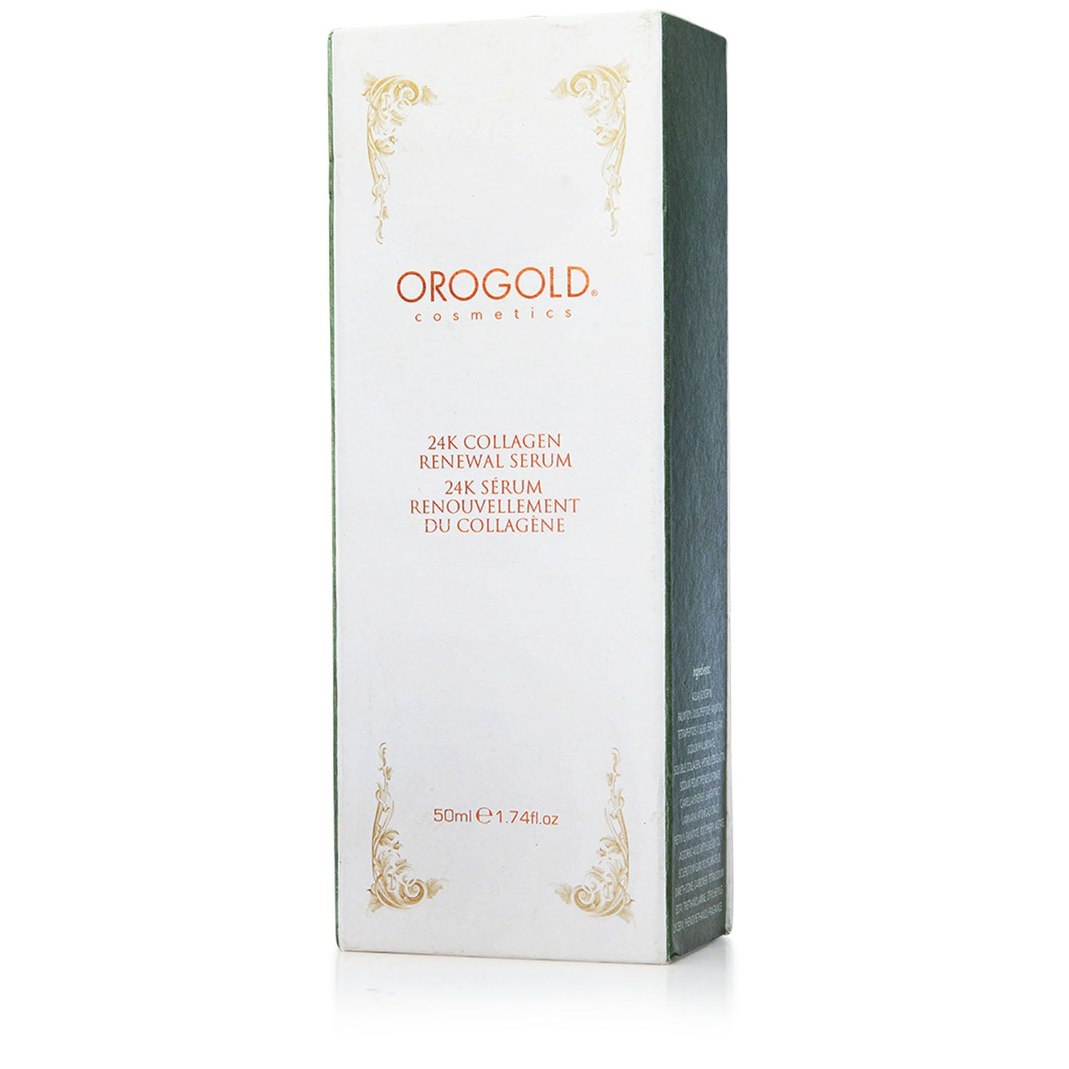 orogold collagen renewal face serum