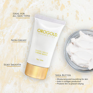 orogold 24k travel size hand cream
