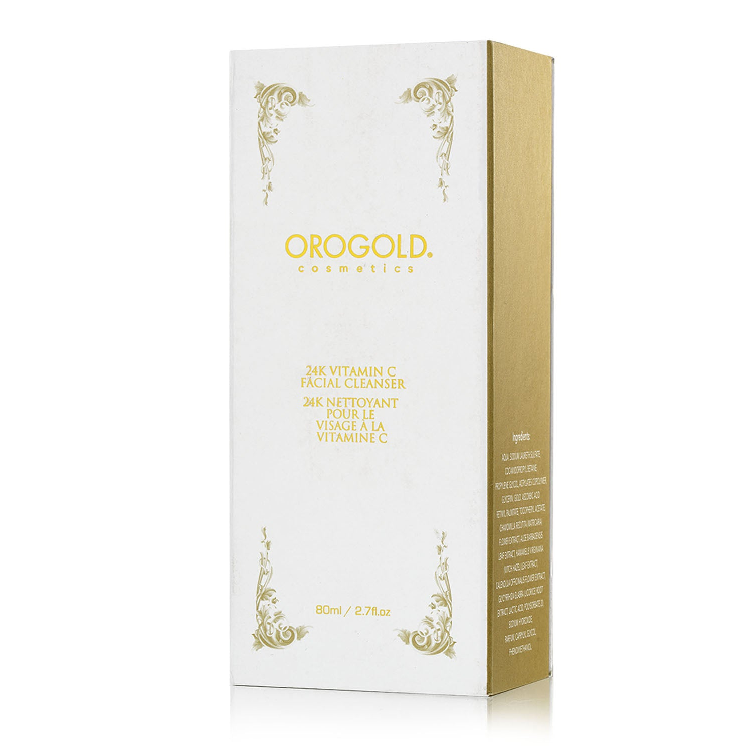 orogold vitamin c facial cleanser for sensitive skin