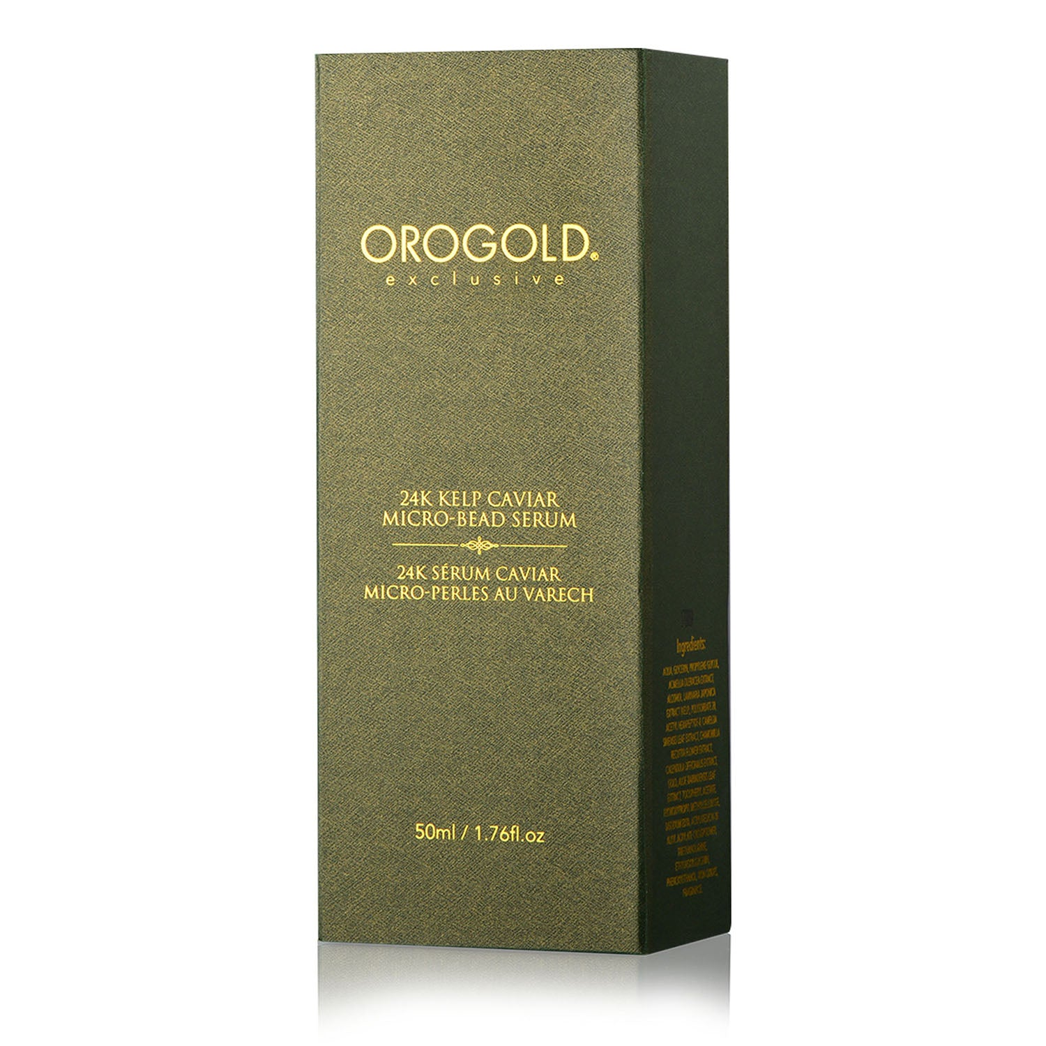 orogold micro-beads face serum