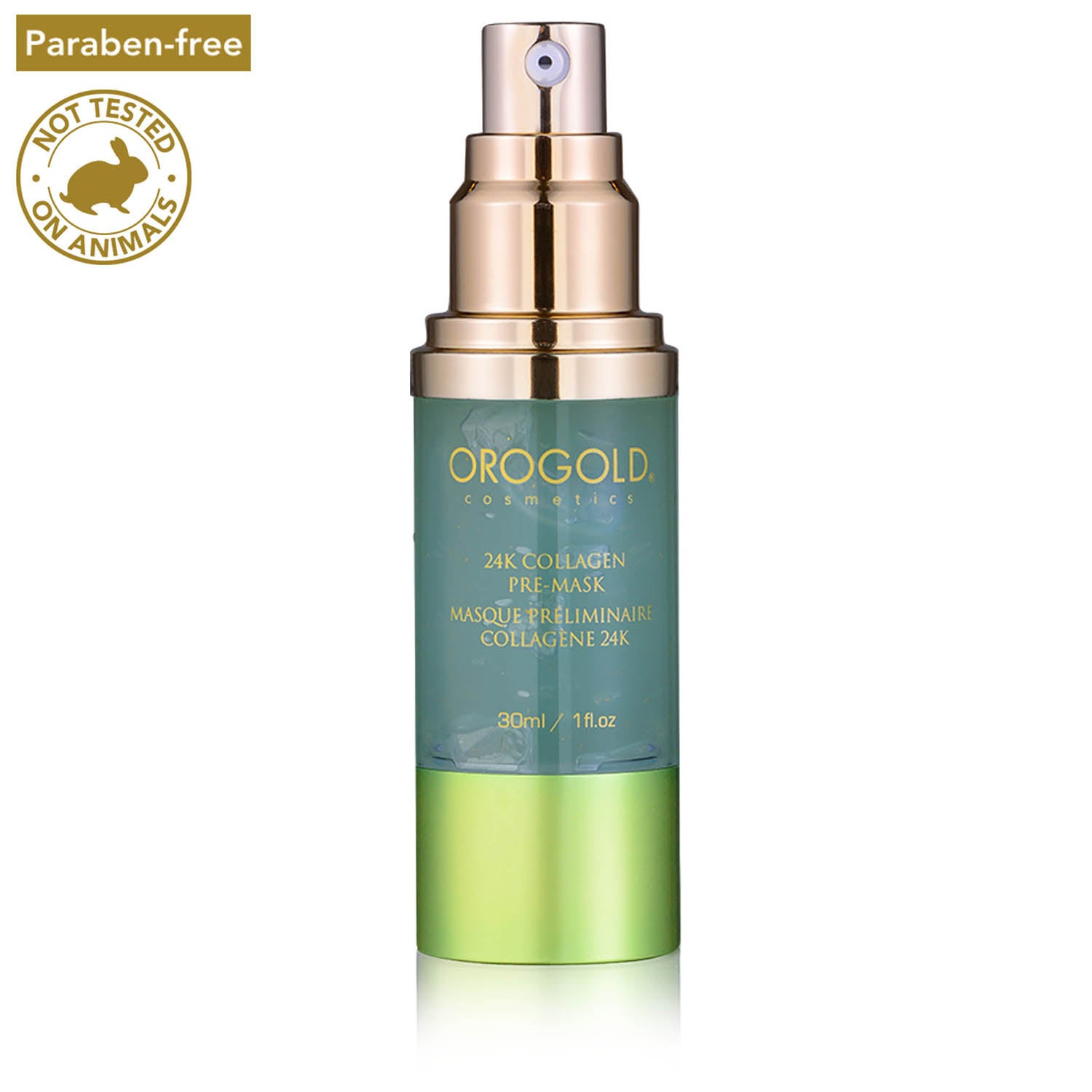 orogold foaming facial cleanser
