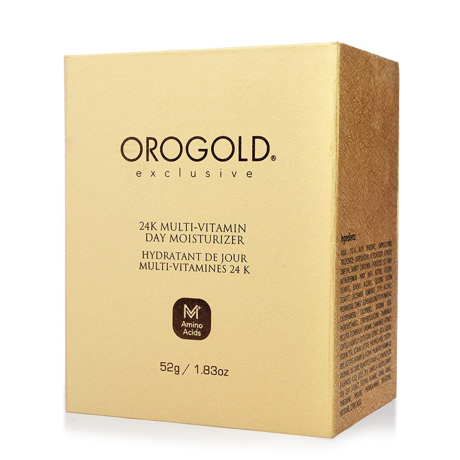 orogold multi-vitamin day moisturizer + amino acid