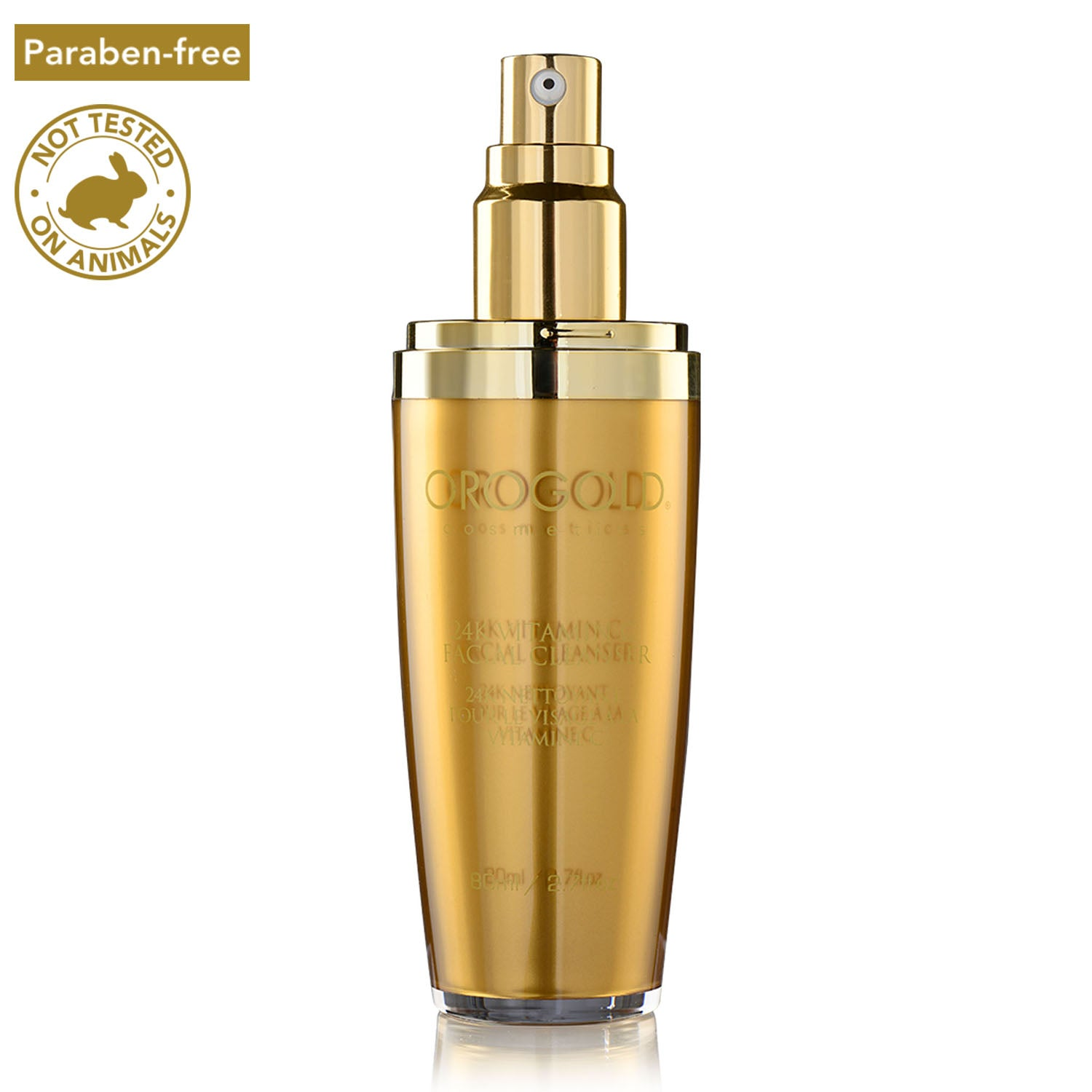 orogold 24k vitamin c facial cleanser
