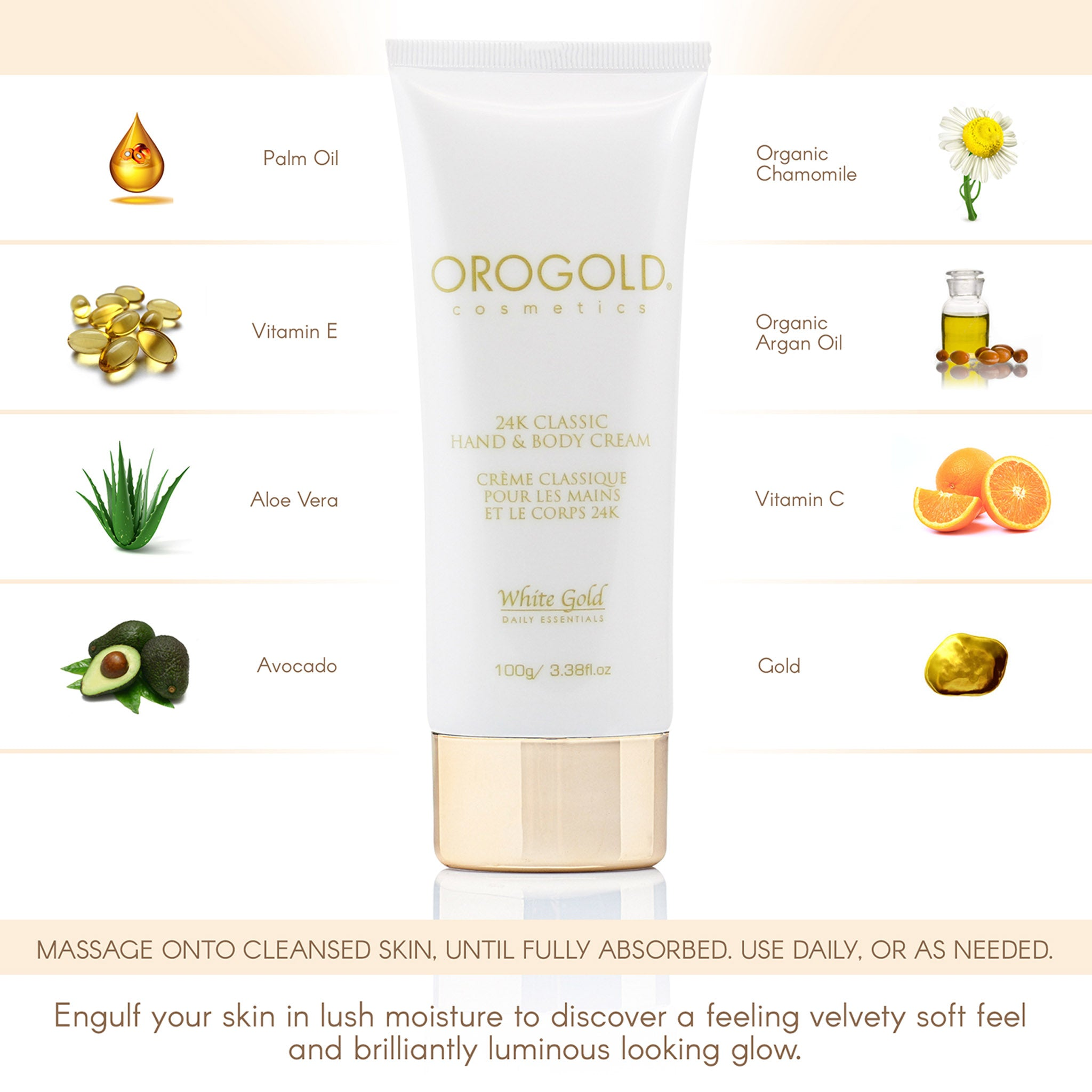 orogold hand lotion and body lotion