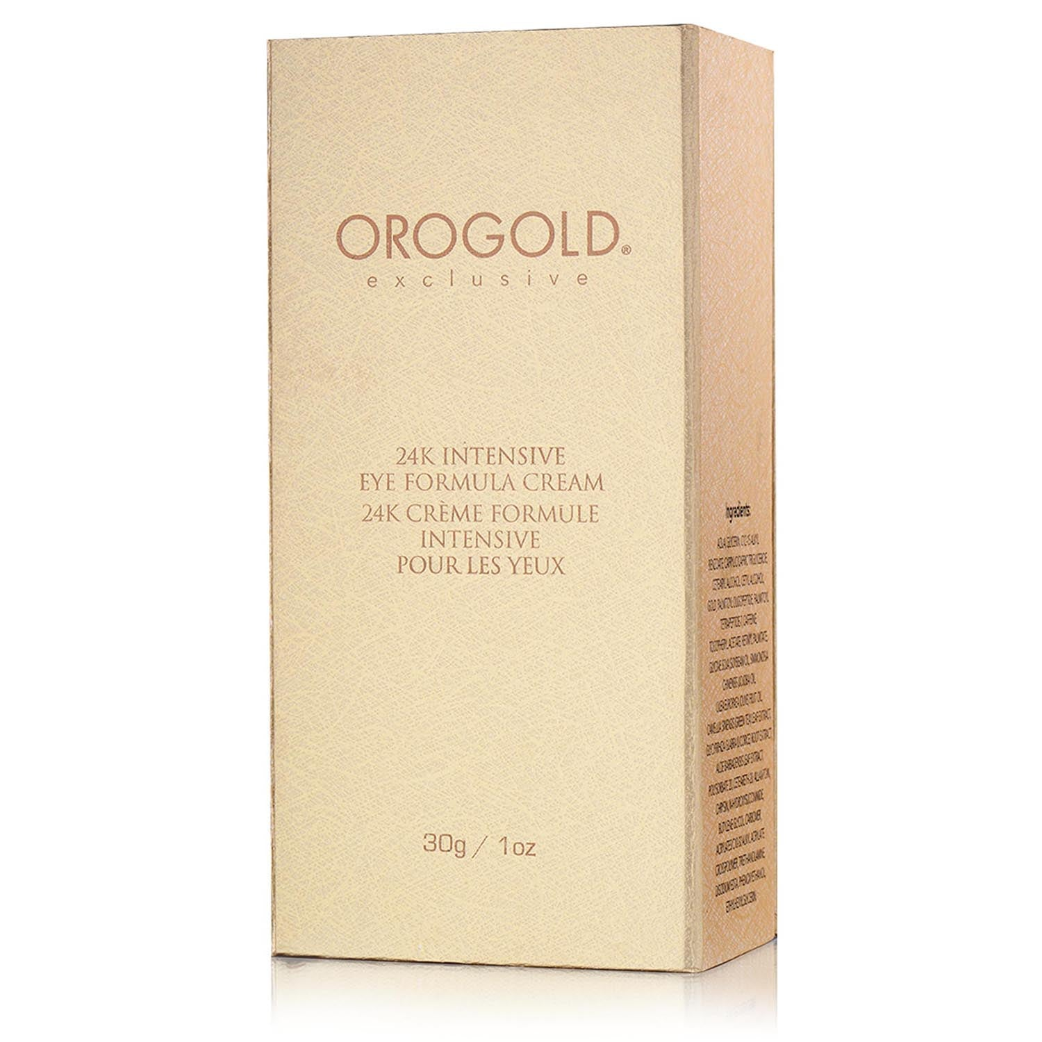 orogold under eye formula cream