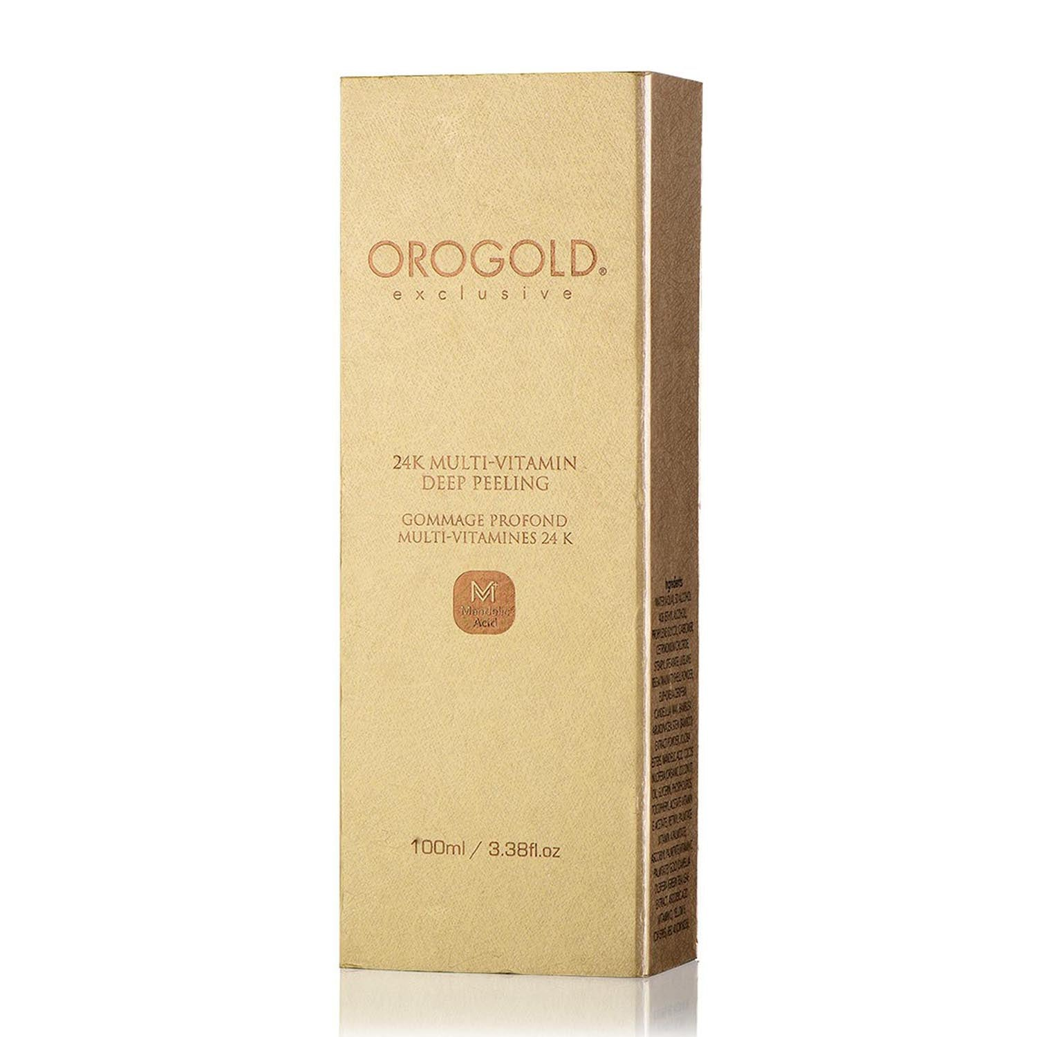orogold multi-vitamin face peel