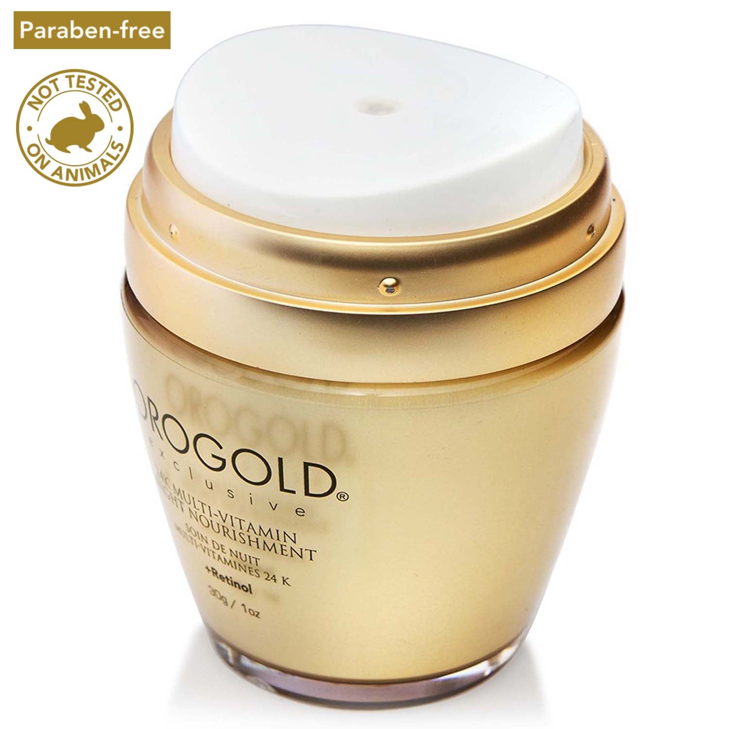 orogold 24k multi-vitamin night nourishment + retinol