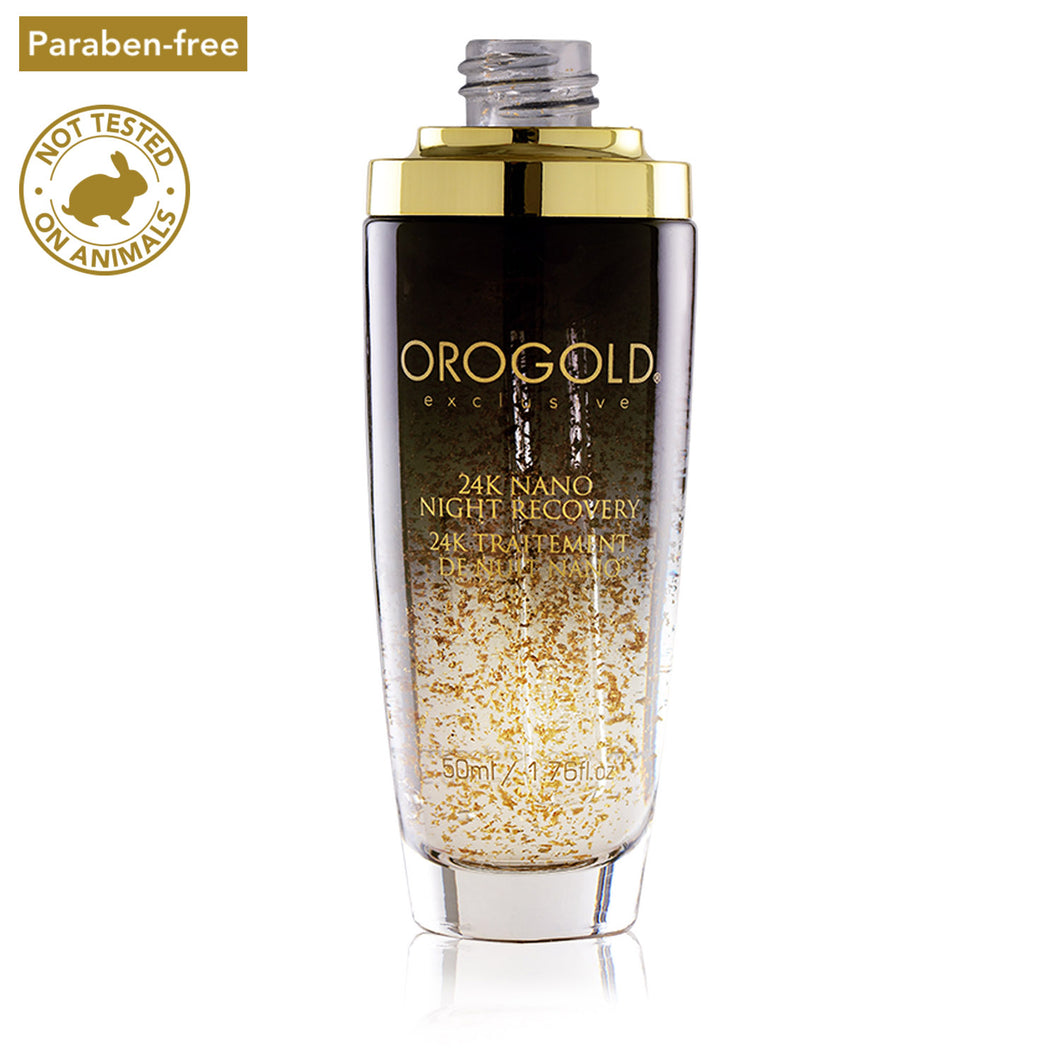 orogold night face recovery